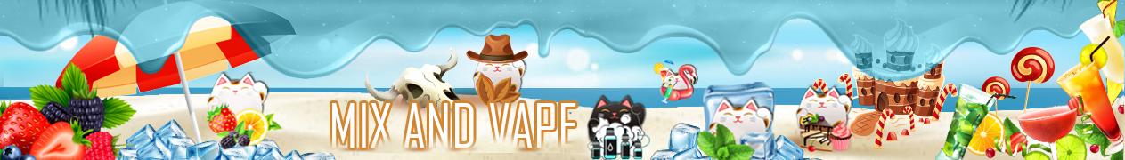 samourai steam e-liquide mix and vape