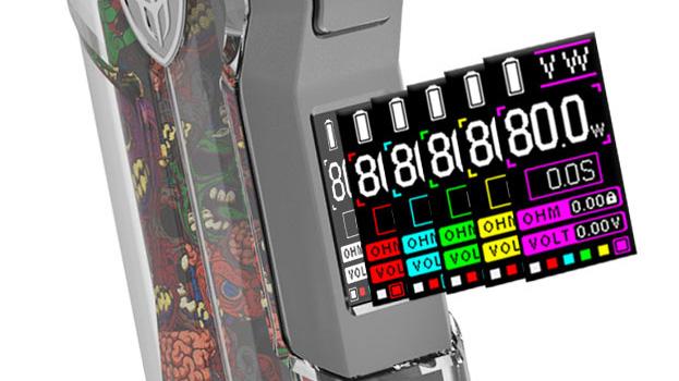 changer couleur ecran jellybox